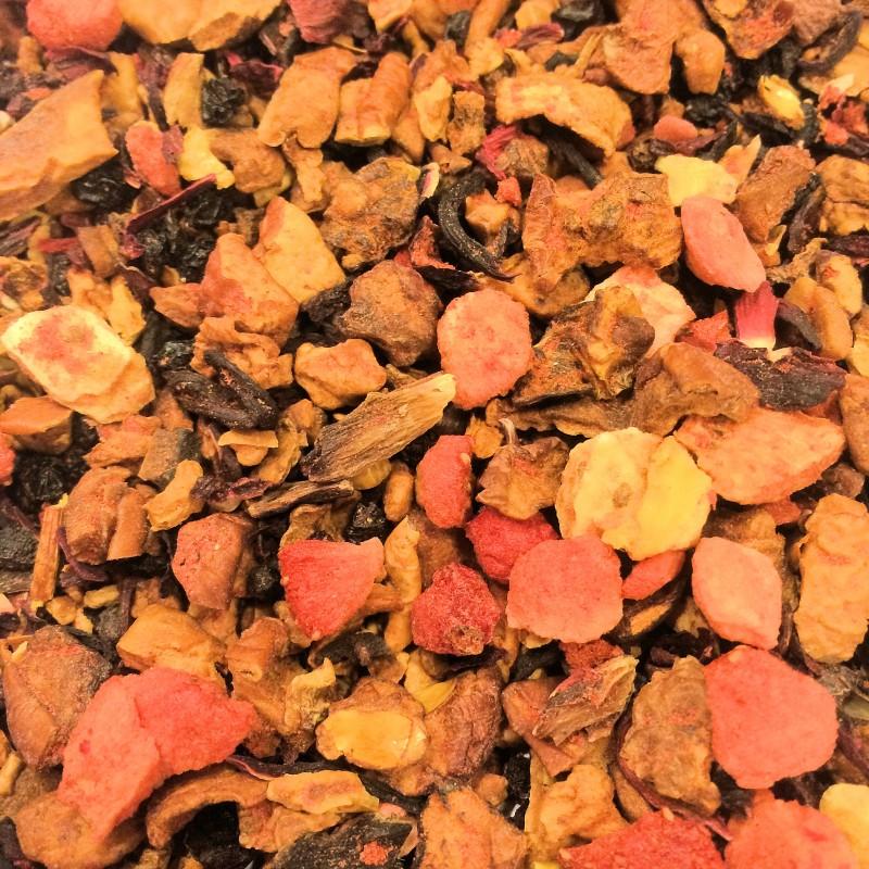 Rotes Früchtchen ohne Aromatisierung Früchtemischung