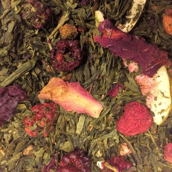 Feige Beere Grüner Tee
