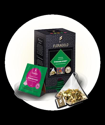 Floragold Stressblocker (15 Beutel) 45,0g (15 Beutel x 3,0g)