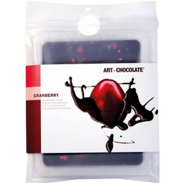 Art of Chocolate Cranberry Schokolade Vegan 120g
