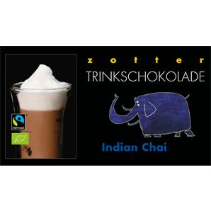 Zotter Trinkschokolade Indian Chai 110g