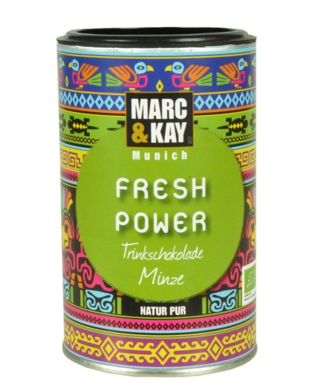 BIO Trinkschokolade Marc & Kay Fresh Power