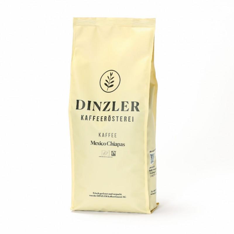 Dinzler Kaffee Mexico Chiapas Fairtrade organico