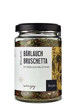 Wajos Bärlauch Bruschetta 60g - vegan