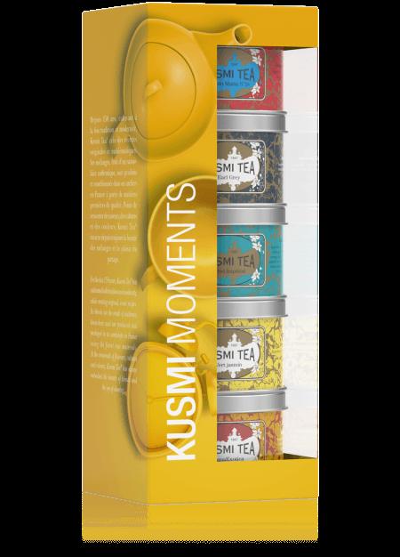 Geschenkset Kusmi Moments - ausgewählte Tees von Kusmi 125g (5 x 25g Dose)