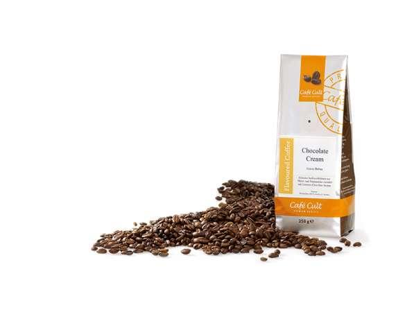 Café Cult Chocolate Cream Ganze Bohne Aromabeutel 250g