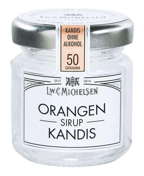 Orangenlikör Kandis ohne Alkohol 50g