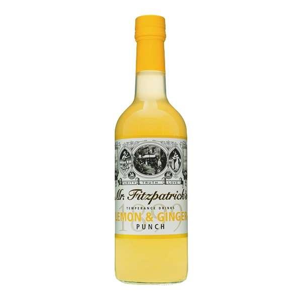 Mr. Fitzpatrick´s Lemon & Ginger Punch (Zitrone & Ingwer) - Sirup 500ml