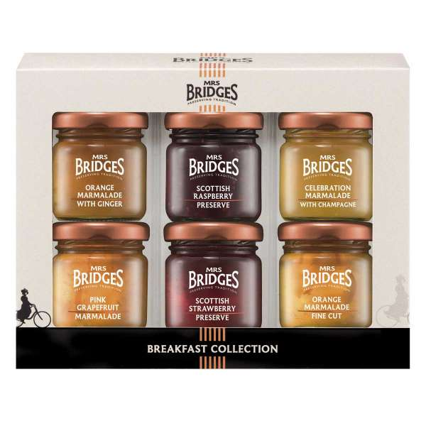 Mrs. Bridges Breakfast Collection Mini Pack 252g