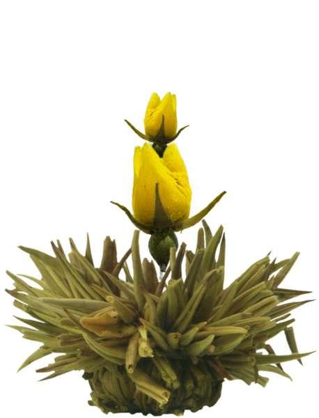 """Creano ErblühTee """"Blütenregen"""" Weißer Tee einzeln 7g"""