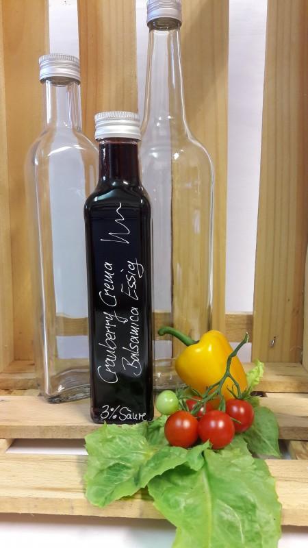Cranberry Crema Essig mit Balsamico - vegan