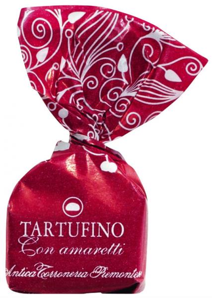 Tartufo con amaretti - dunkle Schokolade 14g