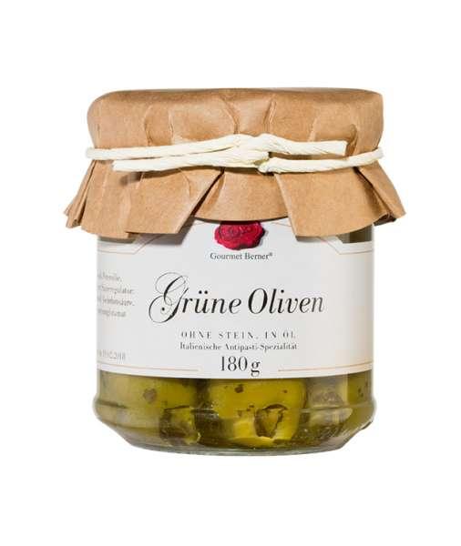 Berner`s Grüne Oliven 180g