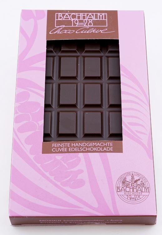 Bachhalm Selection Cuvee 70% Zartbitterschokolade 75g