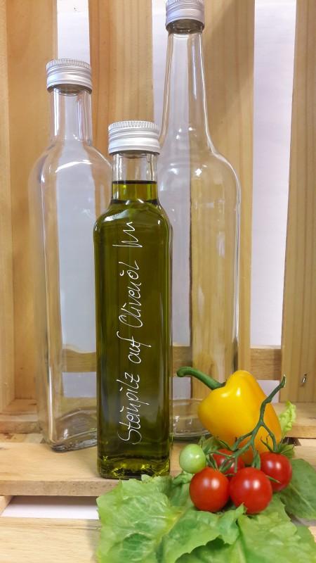 Steinpilz auf Olivenöl