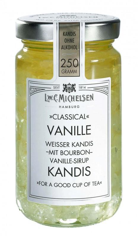 Vanille Kandis ohne Alkohol 250g