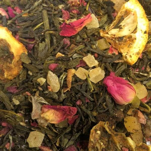 Königin von Saba Grüner und weißer Tee