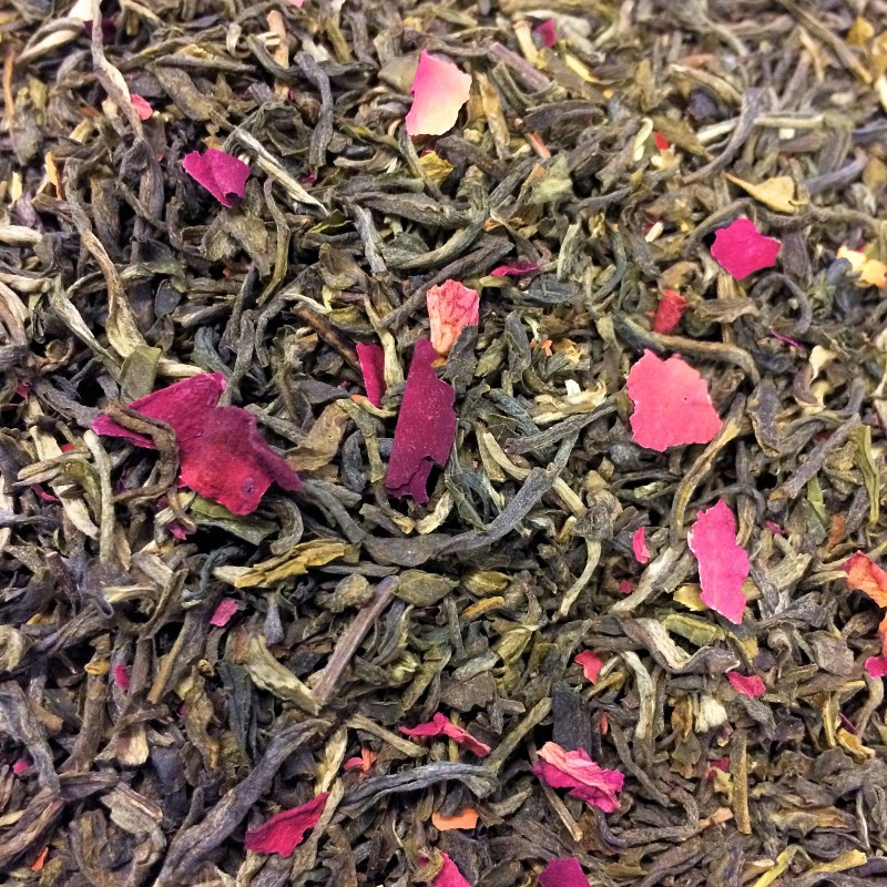 Rosentee Schwarzer Tee