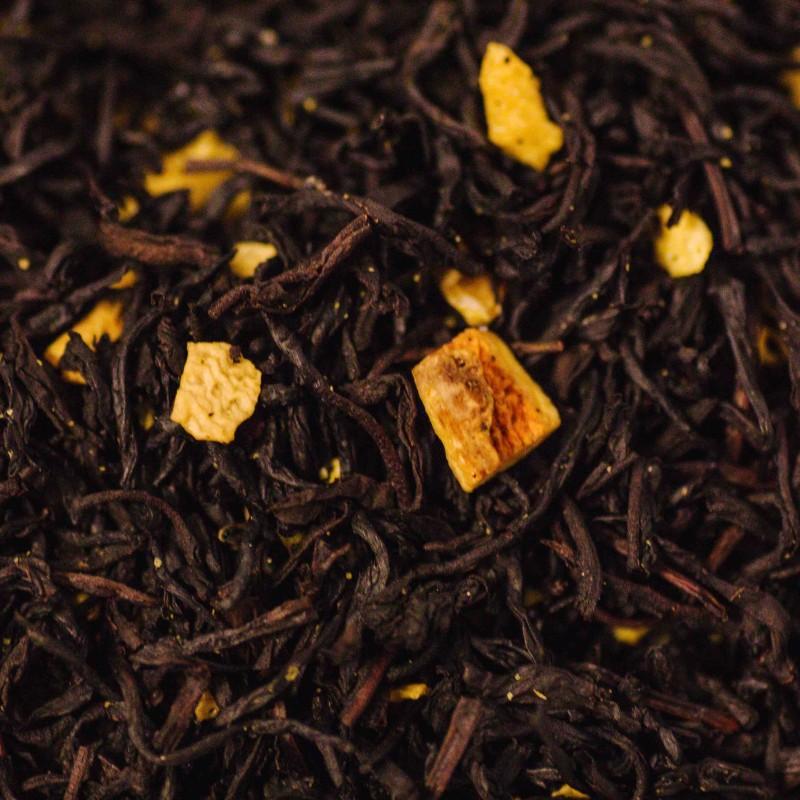 Sweet Orange mit Schalen Schwarzer Tee
