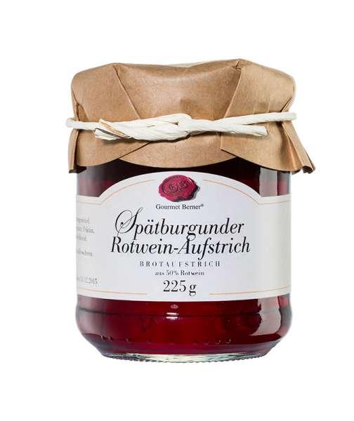 Berner`s Spätburgunder Rotwein-Aufstrich 225g
