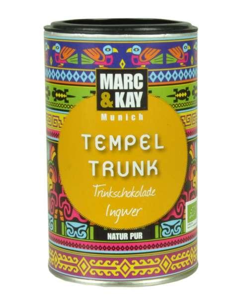 BIO Trinkschokolade Marc & Kay Tempel Trunk Vegan