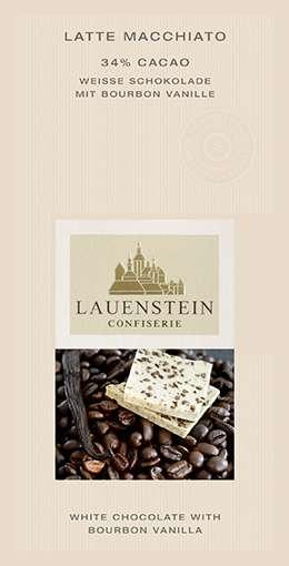 Lauenstein 34% Weiße Latte Macchiato 80g