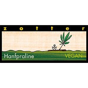 Zotter Hanfpraline Vegan und Laktosefrei 70g