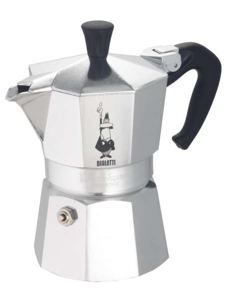 Bialetti 1 Tasse Moka Express Italienischer Kaffeekocher