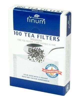 Teefilter aus Papier - Größe M bis zu 6 Tassen