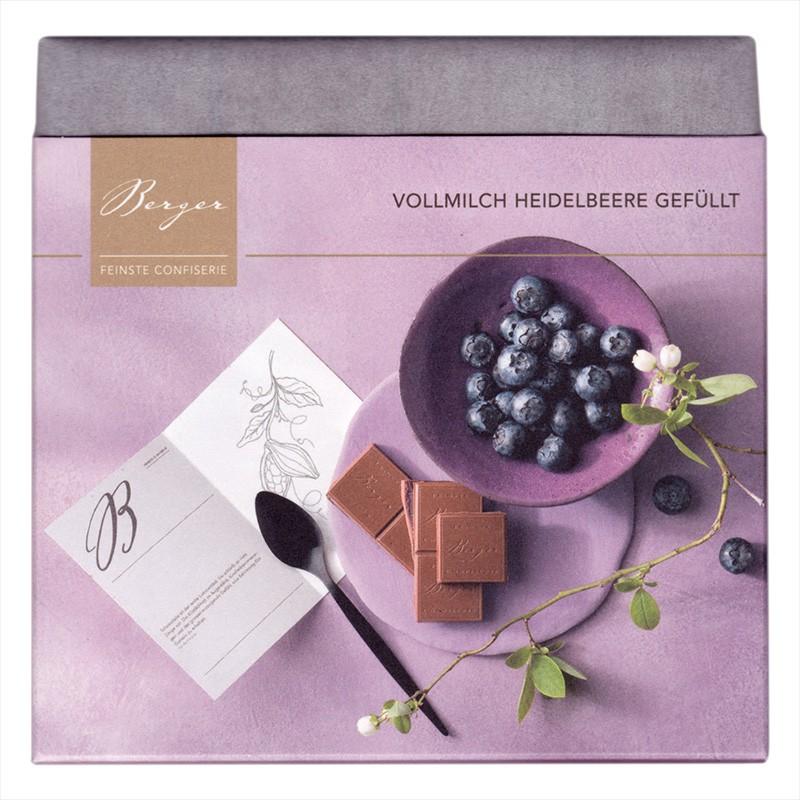 Berger Heidelbeere Vollmilch gefüllt 100g