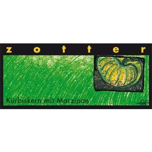 Zotter Kürbiskern Marzipan alkoholhaltig 70g