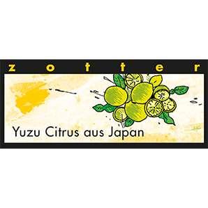 Zotter Schokolade Yuzu Citrus aus Japan 70g