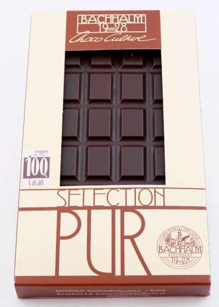 Bachhalm Equador Arriba 100% Zartbitterschokolade 75g