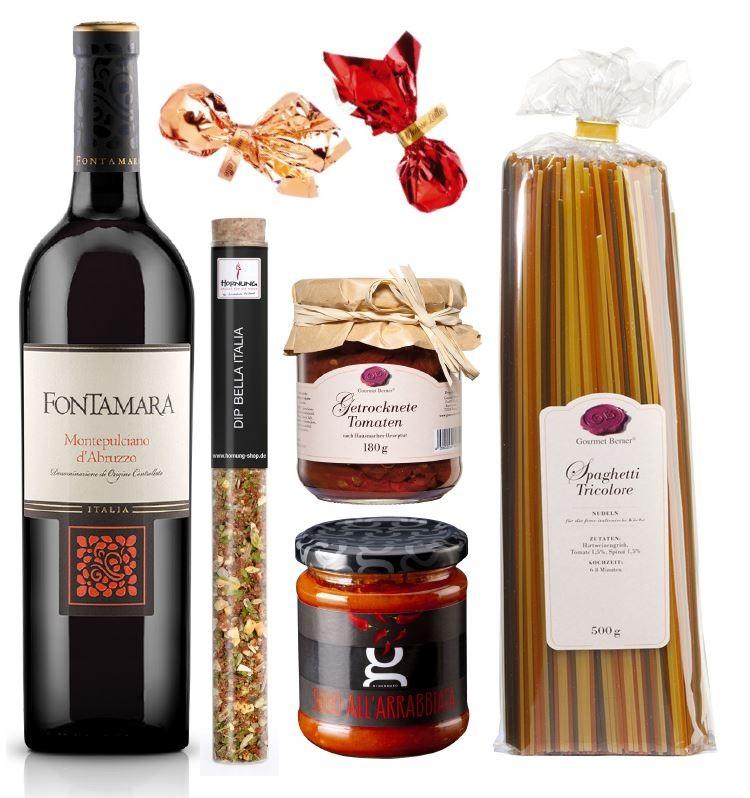 Geschenkset Italien alkoholhaltig