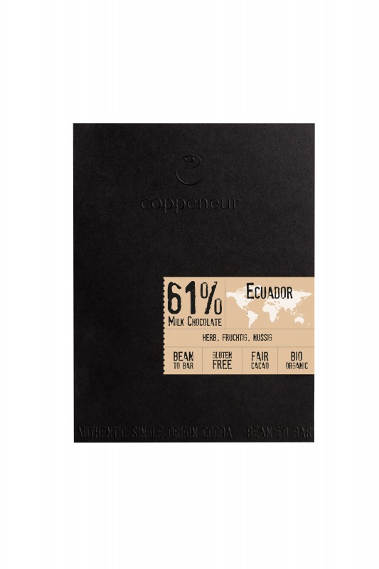 Coppeneur Cru de Cao - Ecuador 61% 50g